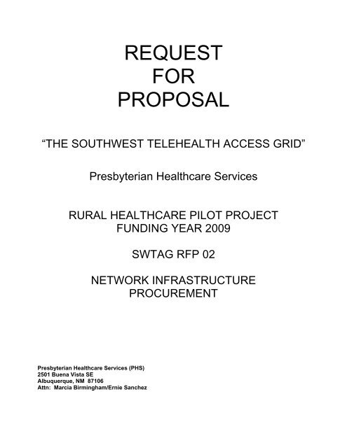 Healthcare Project Proposal