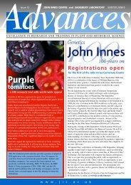 PDF version of Issue 12 - John Innes Centre