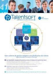 Votre solution de gestion intégrée et de planification des talents