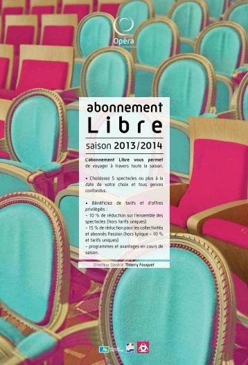 abonnement - Opéra de Bordeaux