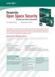 Anti-Virus für Windows Server 5+1 Base Pack Expansion ... - Wick Hill