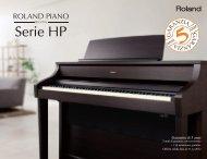 Scarica il catalogo/depliant - Roland Italy SpA