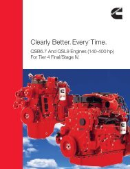 Clearly Better. EveryTM Time. - Cummins Engines