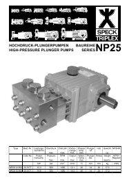 NP25 Information Sheet - SPECK Pumps (UK)