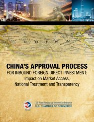 China's Approval Process for Inbound Foreign Direct Investment