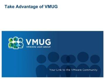 VMUG Advantage – Value - VMware Communities