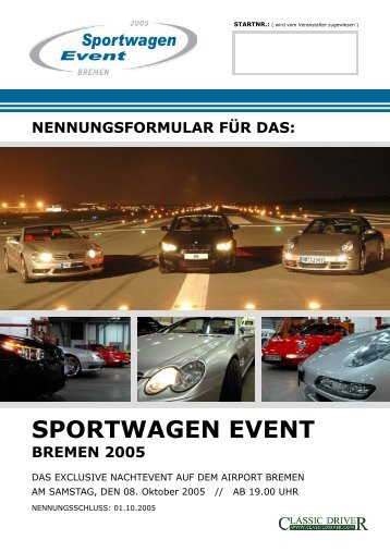SPORTWAGEN EVENT BREMEN 2005 - Classic Driver