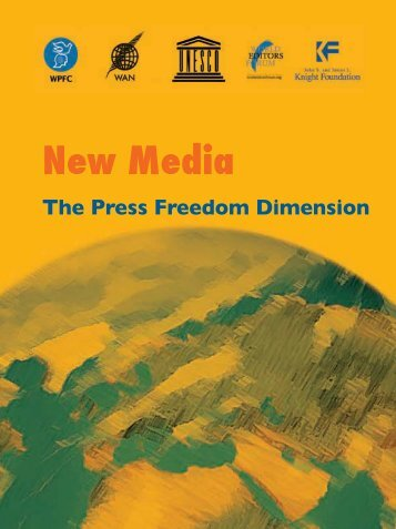 New media:the press freedom dimension, challenges and ...