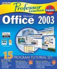 program tutorial set - Individual Software