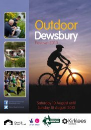 Outdoor Dewsbury Festival 2012 - Kirklees Council
