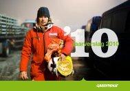 Jaarverslag 2010 - Greenpeace Nederland