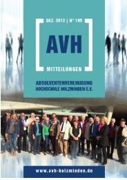 Heft Nr. 199 (Dez 2013) - AvH