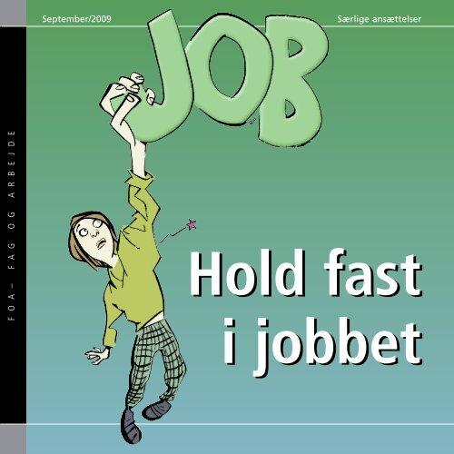Hold fast i jobbet - særlige ansættelser - FOA