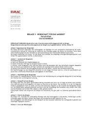 ALLEGATO 3 – GARANZIE A CORREDO DELL'OFFERTA - EURAC