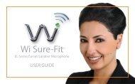 Wi Sure-Fit - J&H Licht en Geluid