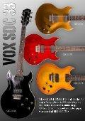 Vox Guitars - Page 4