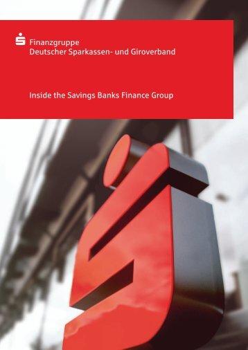 und Giroverband Inside the Savings Banks Finance Group S