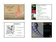 Lisa Deutsch´s föreläsning som PDF - Stockholm Resilience Centre
