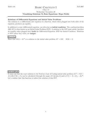 Worksheets Slope Fields Worksheet ap slope fields worksheet key visualizing solutions to rate equations