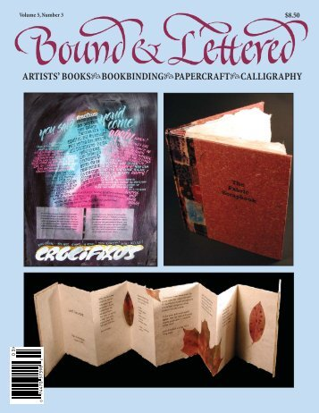 artists' books bookbinding papercraft calligraphy - John Neal ...