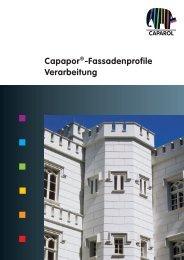 Capapor®-Fassadenprofile Verarbeitung - Deutsche Amphibolin ...