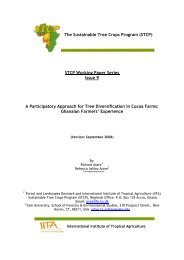 The Sustainable Tree Crops Program (STCP) - World Cocoa ...