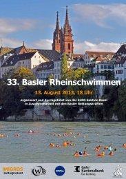 33. Basler Rheinschwimmen - SLRG
