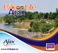 Download the Bikeable Ajax Booklet - Town of Ajax