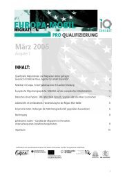 März 2006 - Pro Qualifizierung