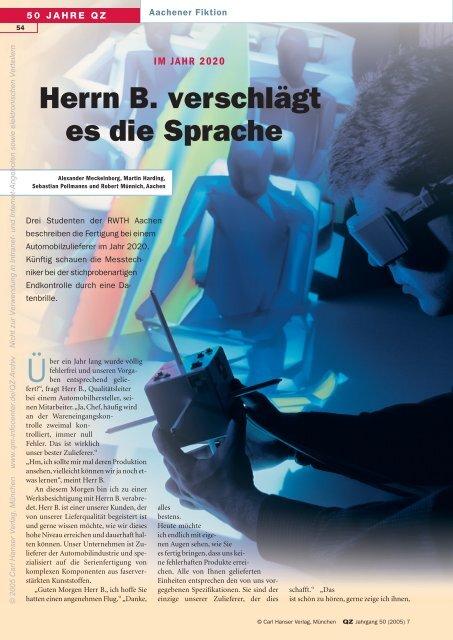 Herrn B. verschlägt es die Sprache - QZ-online.de