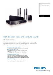 HTS3568/12 Philips DVD home theater system - Mixi, foto in video