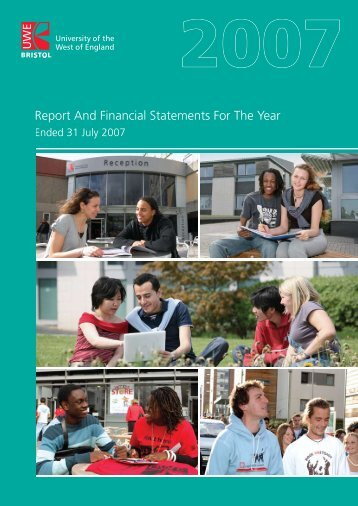 Report and Financial Statements Year Ended 31 July 2007