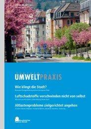 Zürcher UmweltPraxis Nr. 72, vollständige Ausgabe - Kanton Zürich