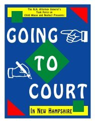 Going To Court - A Guide for Children - New Hampshire Attorney ...