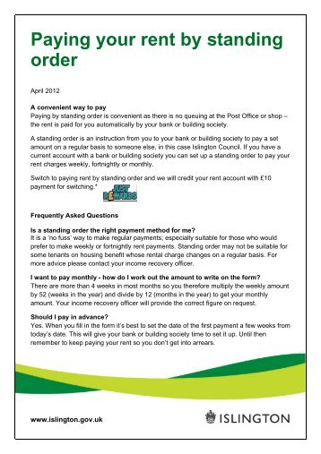 Parking Services Application Form - Suspension   - Islington Council