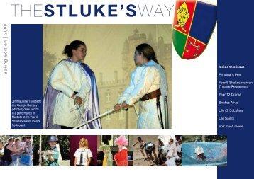Spring Edition - St Luke's Anglican School