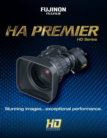 HA Premier HD Series Lens Brochure - Fujinon