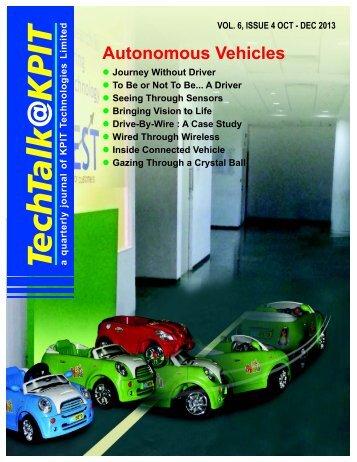 Autonomous Vehicles - KPIT