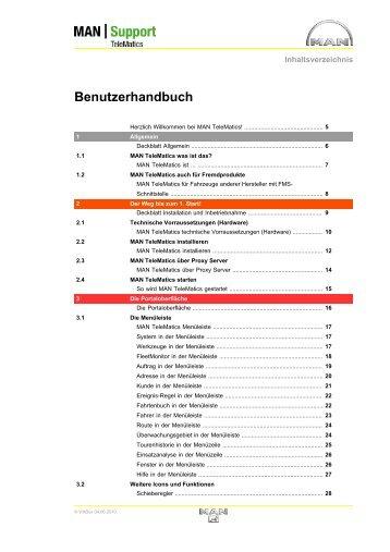 Benutzerhandbuch - MAN Truck & Bus Deutschland