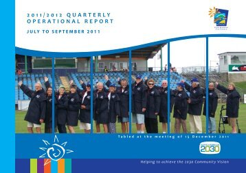 Quarterly Operational Report - Coffs Harbour City Council
