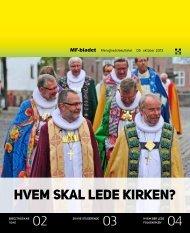 Hvem skal lede kirken? - Menighedsfakultetet