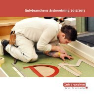 Læs Gulvbranchens Årsberetning 2012/2013