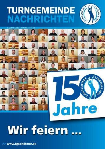 Wir feiern ... - Turngemeinde Schötmar von 1863 e.V.