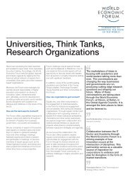 Universities, Think Tanks, Research Organizations - Www3.weforum ...