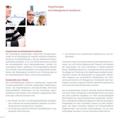 ErgothErapiE - Hochschule Fresenius