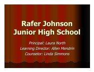 Rafer Johnson Junior High School