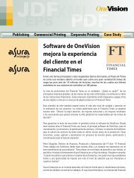 Financial Times, Reino Unido - OneVision Software