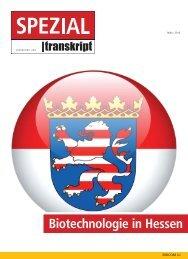 Biotechnologie in Hessen - Transkript