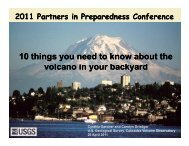 Ten Things You Need to Know About the Volcano in Your Backyard