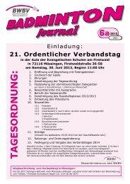 Sonderheft Verbandstag 2012 - Baden - Württembergischer  ...